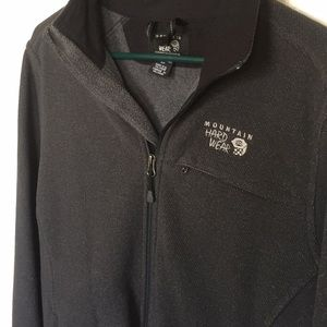 Mountain Hardwear Zip Up Fleece Jacket Men's Small